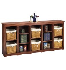 Shaker Bookcases: Open w Dividers | AWB-BK8
