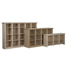 Federal Bookcases: Open w Dividers | AWB-BK8
