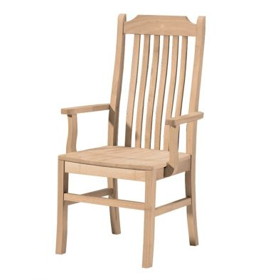 Steambent Mission Arm Chair