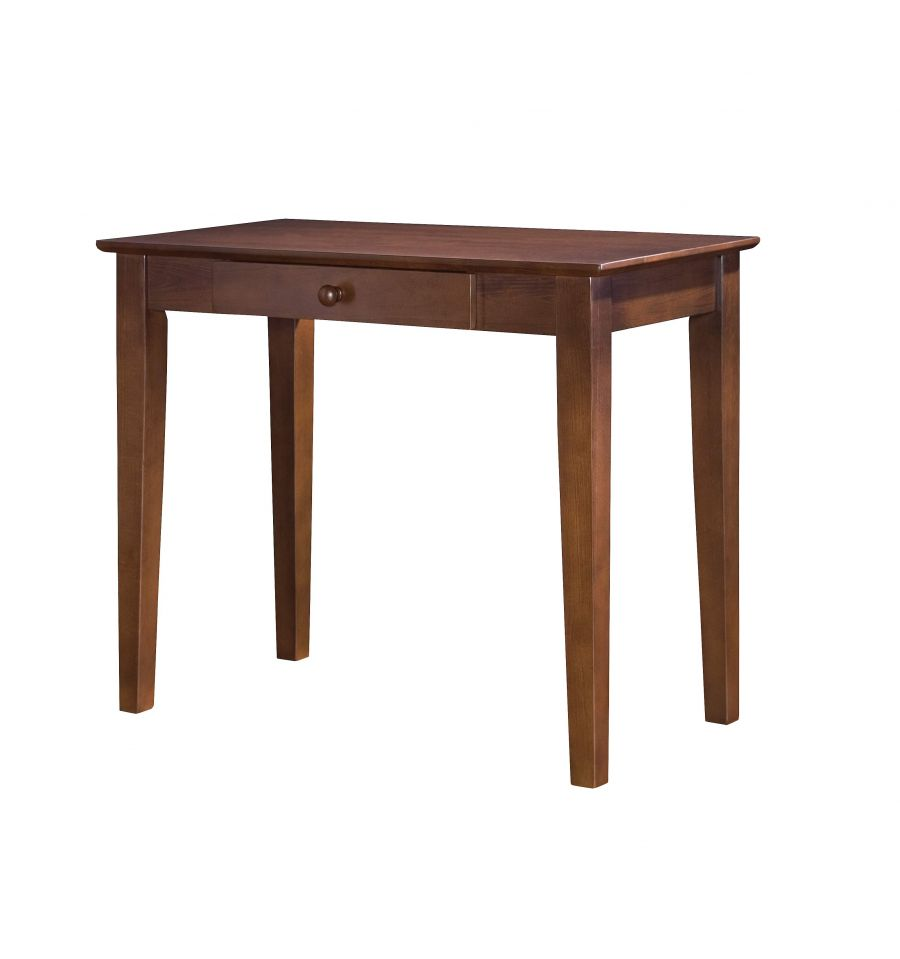 36 Inch Shaker Writing Table Wood You Furniture