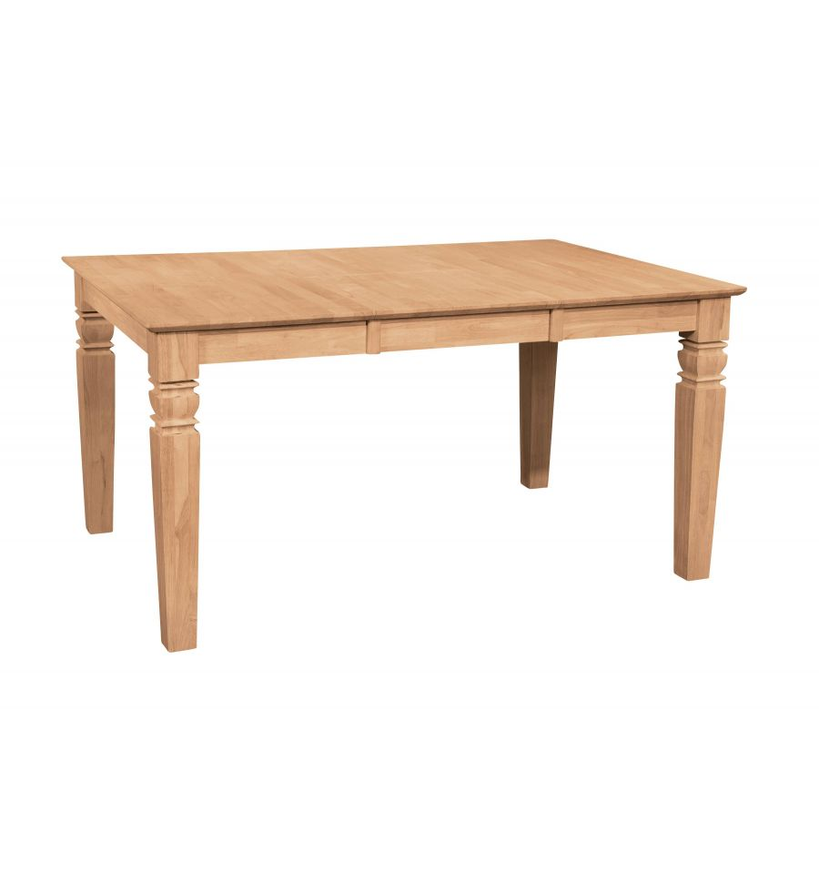 58 Inch Java Butterfly Dining Table Wood You Furniture
