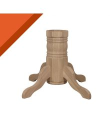 [48B] Traditional Dining Pedestal for Solid