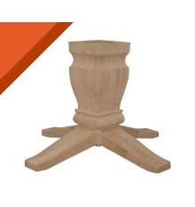 [10B] Java Dining Pedestal for Solid