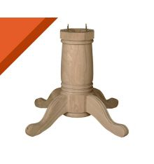 [54B] Traditional Dining Pedestal for Solid