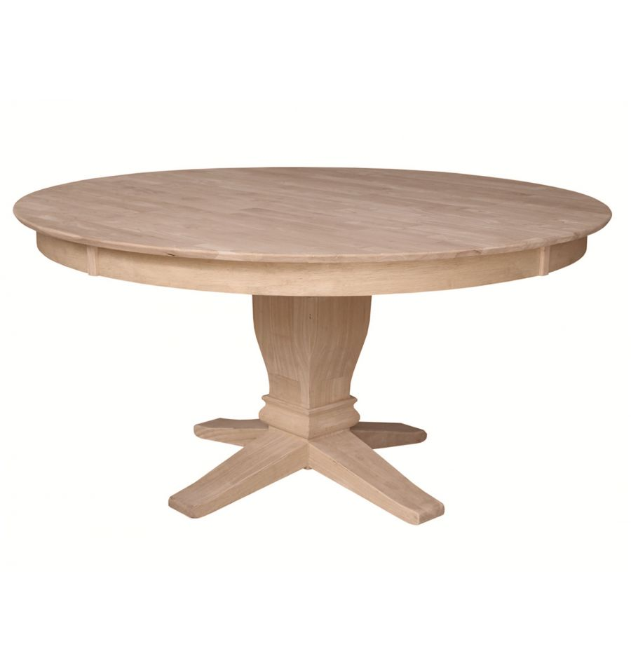 60 inch solid dining table wood you furniture for Table table table
