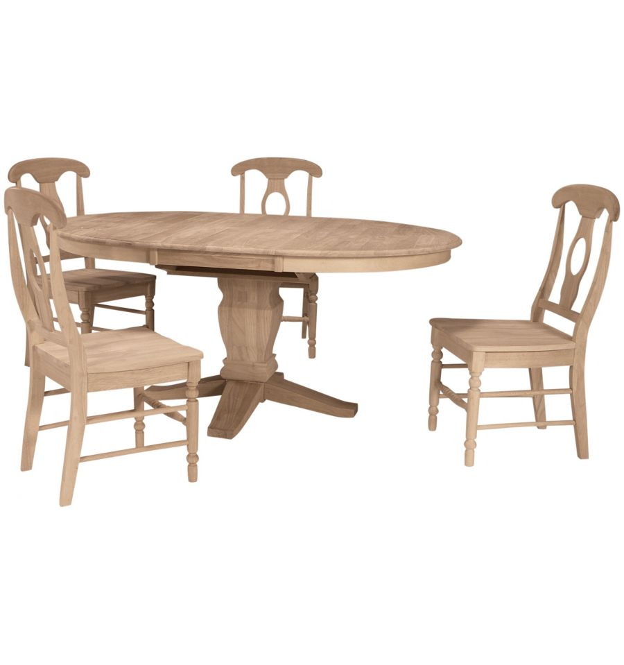 48x48 66 Inch Butterfly Dining Table