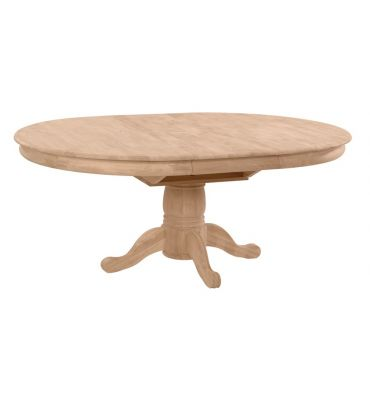 [54x54-72 Inch] Butterfly Dining Table - with T-54XB Pedestal