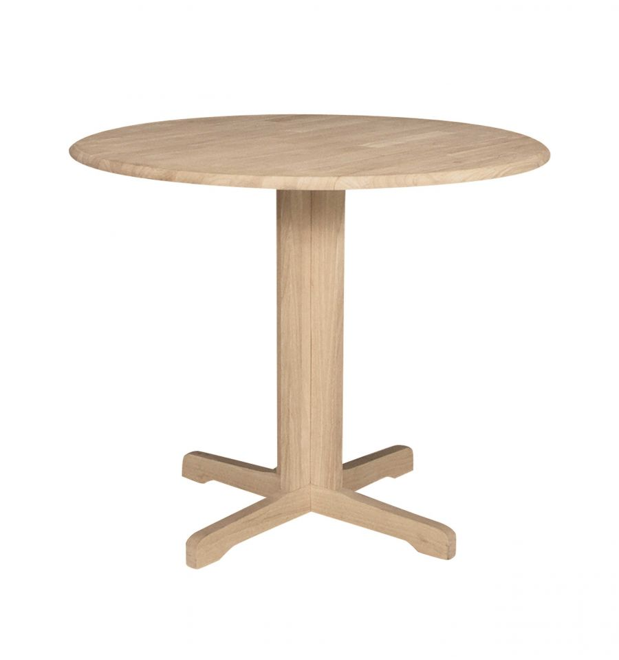 36 Inch Round Dining Table Part - 49: [36 Inch] Contemporary Dropleaf Table ...
