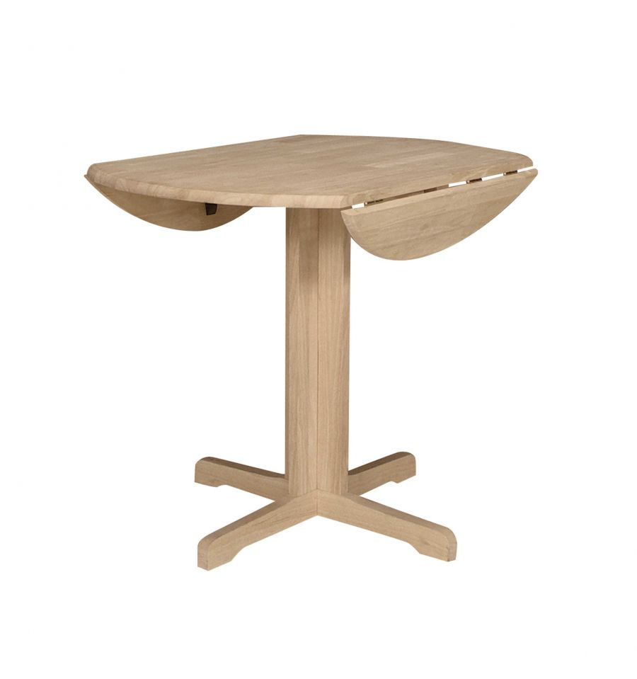 36 Inch Contemporary Dropleaf Table Wood You Furniture
