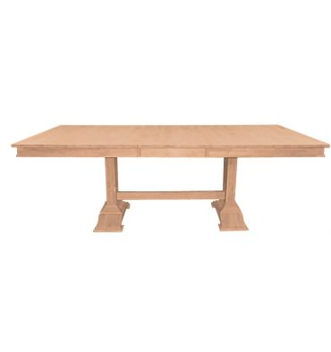 [84 Inch] Trestle Butterfly Dining Table