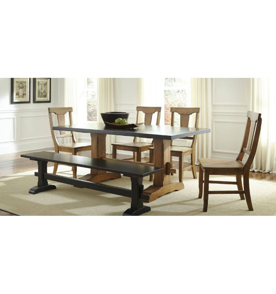 72 Inch Heavy Trestle Dining Table