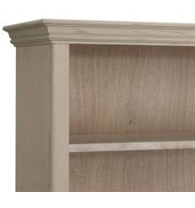 Face Frame Crown Bookcases: Wood Doors | AWB-BK1