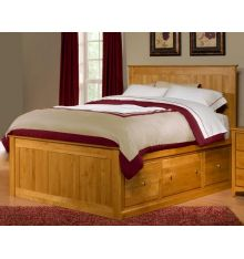 Alder Chest Beds: Six Tall Drawers
