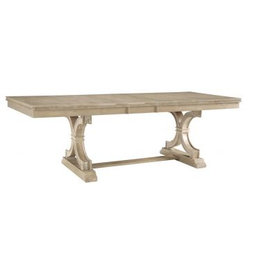 [96 Inch] Sonoma Extension Dining Table with Trestle Base