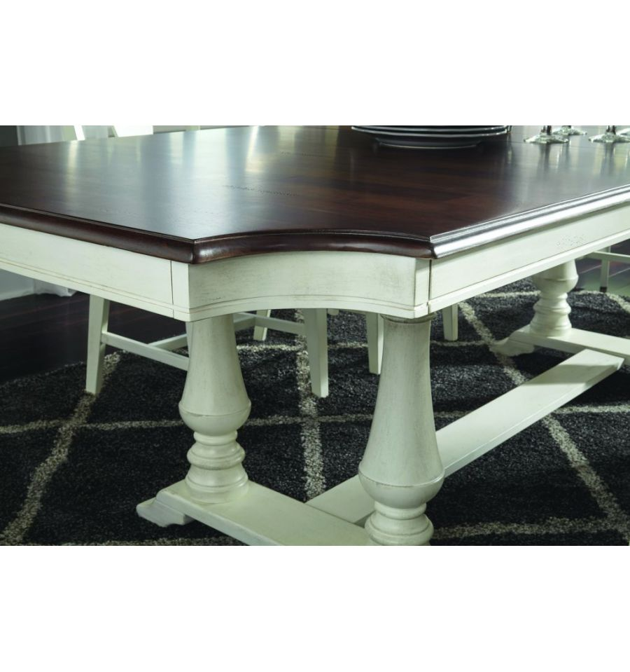 102 Inch Grove Park Extension Dining Table With Double