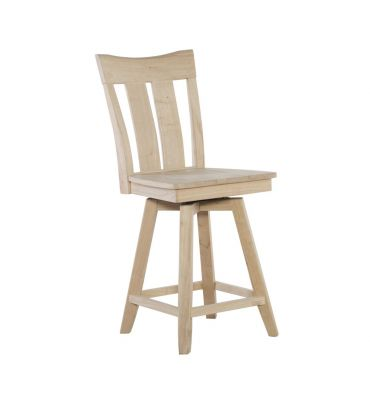[24 Inch] Ava Swivel Stool