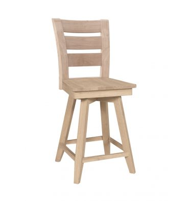 [24 Inch] Tuscany Swivel Stool