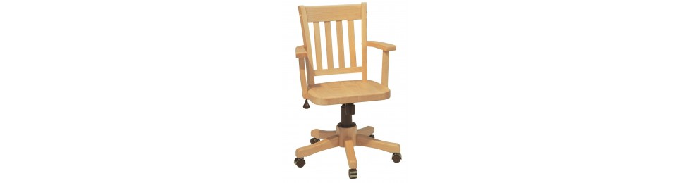 home office chairs | computer desk chairs - wood you furniture