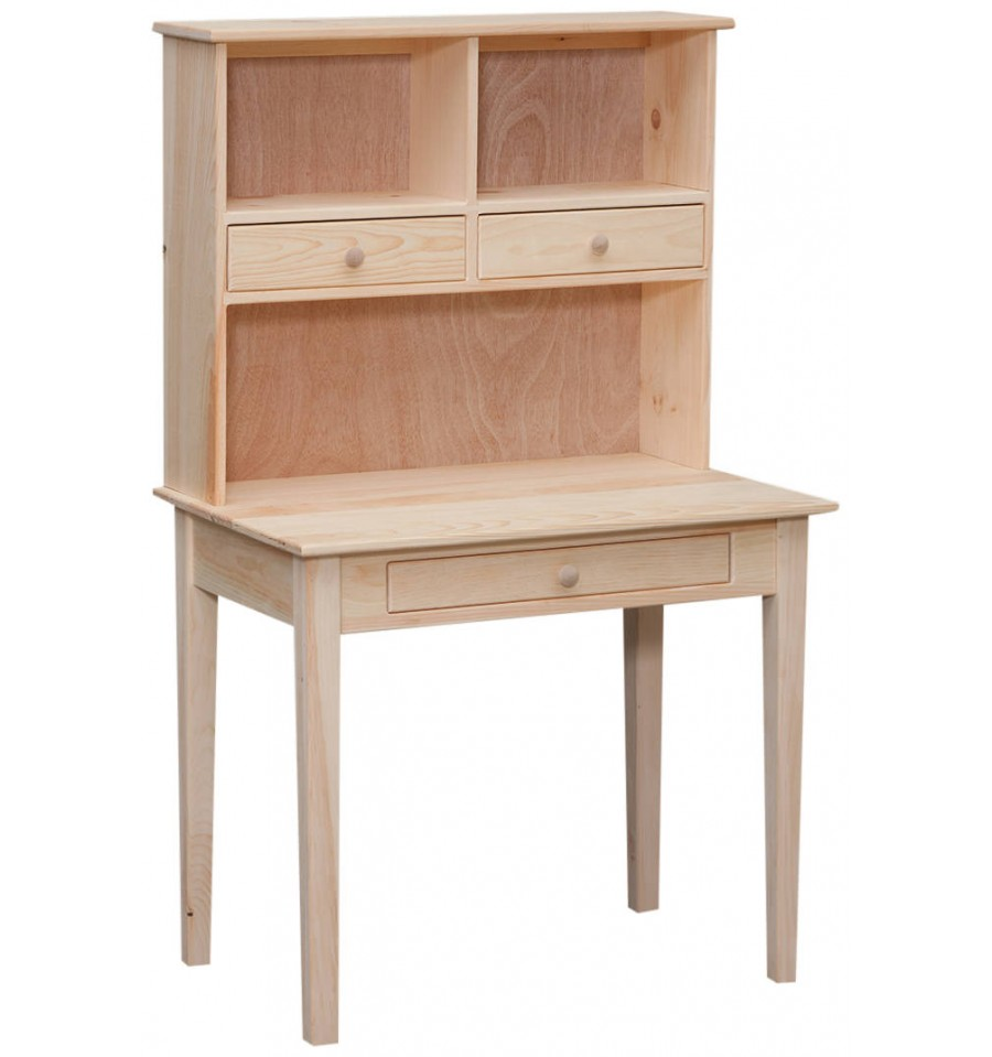 35 Inch Writing Desk And Hutch