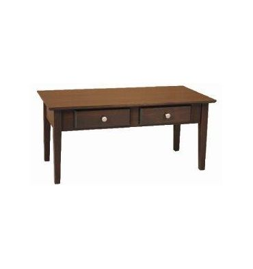 40 Inch Alder Shaker Coffee Table