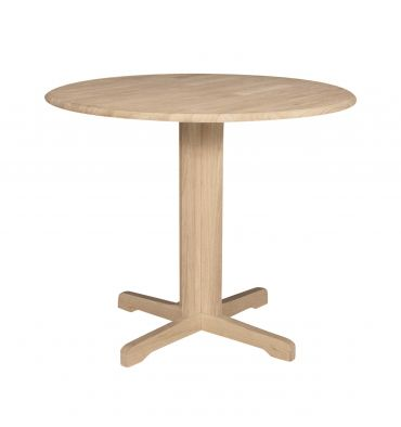 36 Inch Contemporary Dropleaf Table